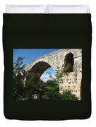 Stone Arch Of Pont St. Julien Duvet Cover