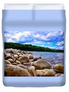 Stone Beach Duvet Cover