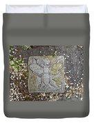 Stone Bee In Jim Thorpe Pa Duvet Cover