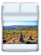 Stone Cairns Duvet Cover