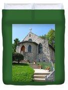 Stone Church Duvet Cover
