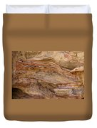 Stone Colors And Textures Duvet Cover