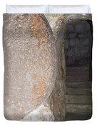 Stone Door Duvet Cover