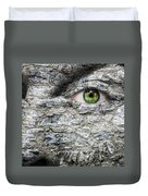 Stone Face Duvet Cover by Semmick Photo
