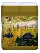 Stone Gods Of The River Duvet Cover