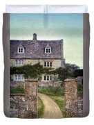 Stone House Duvet Cover