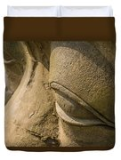 Stone Idol Duvet Cover