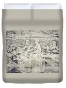 Stone Mountain Georgia Confederate Carving Duvet Cover