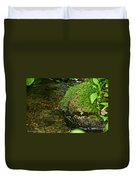 Stone Mouth Duvet Cover