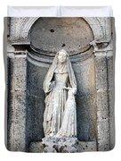 Stone Nun Duvet Cover