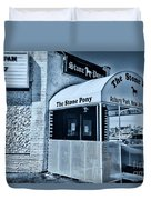 Stone Pony Cool Blue Duvet Cover