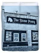 Stone Pony Cool Side View Duvet Cover