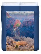 Stone Quarry At Red Rocks Open Space Duvet Cover