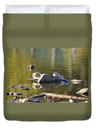 Stone Reflections Duvet Cover