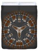 Stone Ridge Mandala Duvet Cover