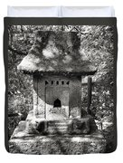 Stone Shrine Duvet Cover