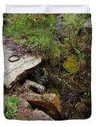Stone Slid Away Duvet Cover