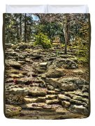 Stone Spring At Woodward Park 1 Duvet Cover