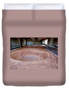 Stone Village-850 Ad In A Protective Shelter On The Mesa Top In Mesa Verde National Park-colorado Duvet Cover