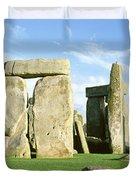 Stonehenge, Wiltshire, England, United Duvet Cover