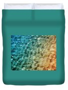 Stones In The Sea Duvet Cover
