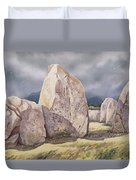 Stones Of Castlerigg Duvet Cover