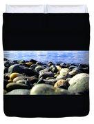Stones To Admire Duvet Cover