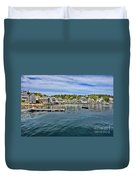 Stonington In Maine Duvet Cover
