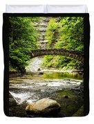 Stony Brook State Park Duvet Cover