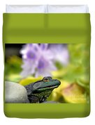 Stop And Smell The Hyacinths Duvet Cover