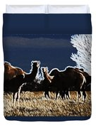 Stop And Stare V3 Duvet Cover