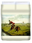 Stopping At Water From Qualified Horses And Unqualified Riders Duvet Cover