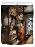 Store - Turn Of The Century Soda Fountain Duvet Cover