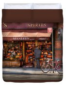 Store - Wine - Ny - Chelsea - Wines And Spirits Est 1934  Duvet Cover