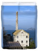 Storehouse Alcatraz Island San Francisco Duvet Cover