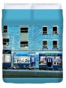 Stores On Ossington In Blue Duvet Cover