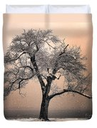 Stories To Tell Duvet Cover by Betty LaRue