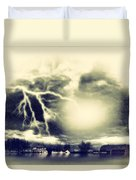Storm And Flood Duvet Cover