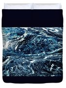 Storm At Sea Duvet Cover by Stephanie Grant