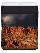 Storm Clouds Capitol Reef National Park Utah Duvet Cover