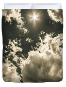 Storm Clouds Gathering Duvet Cover