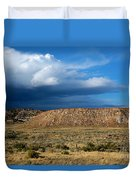 Storm Clouds Over Central Wyoming Duvet Cover