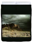 Storm In The Superstitions Duvet Cover