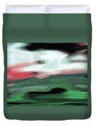 Storm On The American Landscape Duvet Cover