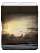 Storm On The Water Duvet Cover