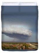 Storm Over Badlands 2am-115139 Duvet Cover