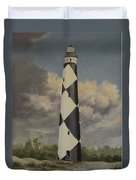 Storm Over Cape Fear Duvet Cover