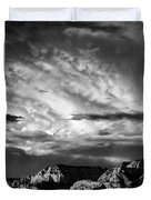 Storm Over Sedona Duvet Cover by Dave Bowman