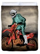 Storm Rider V1 Duvet Cover