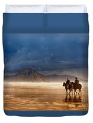 Storm Riders Duvet Cover
